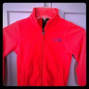 Bright & Beautiful Fleece North Face Jacket